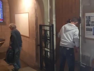 Grand nettoyage de l'église St-Pierre
