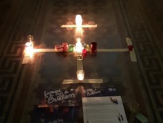 La lumière de Bethléem à St-Pierre