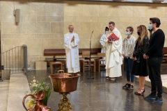Baptême et première communion de jeunes de l'aumônerie
