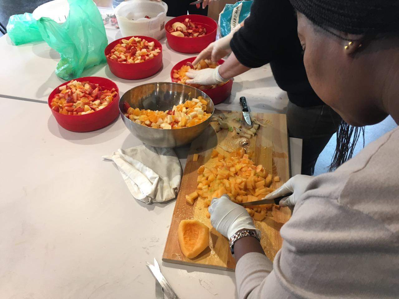 Repas solidaire du secours catholique