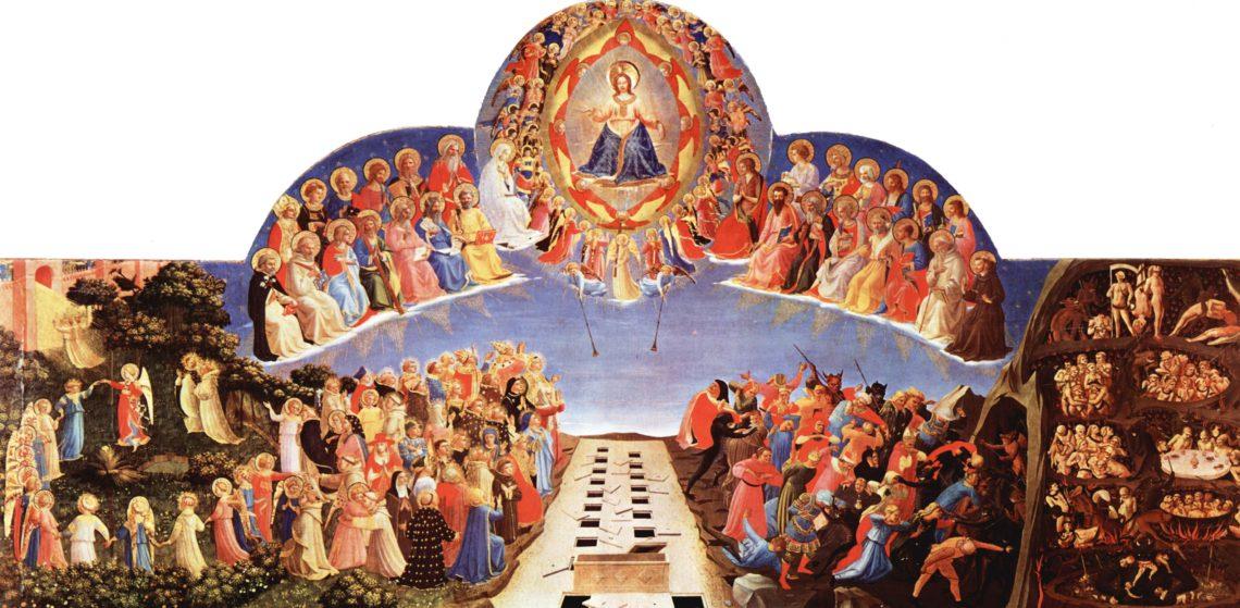 Le jugement dernier Fra Angelico