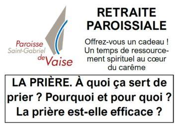 retraite paroissiale